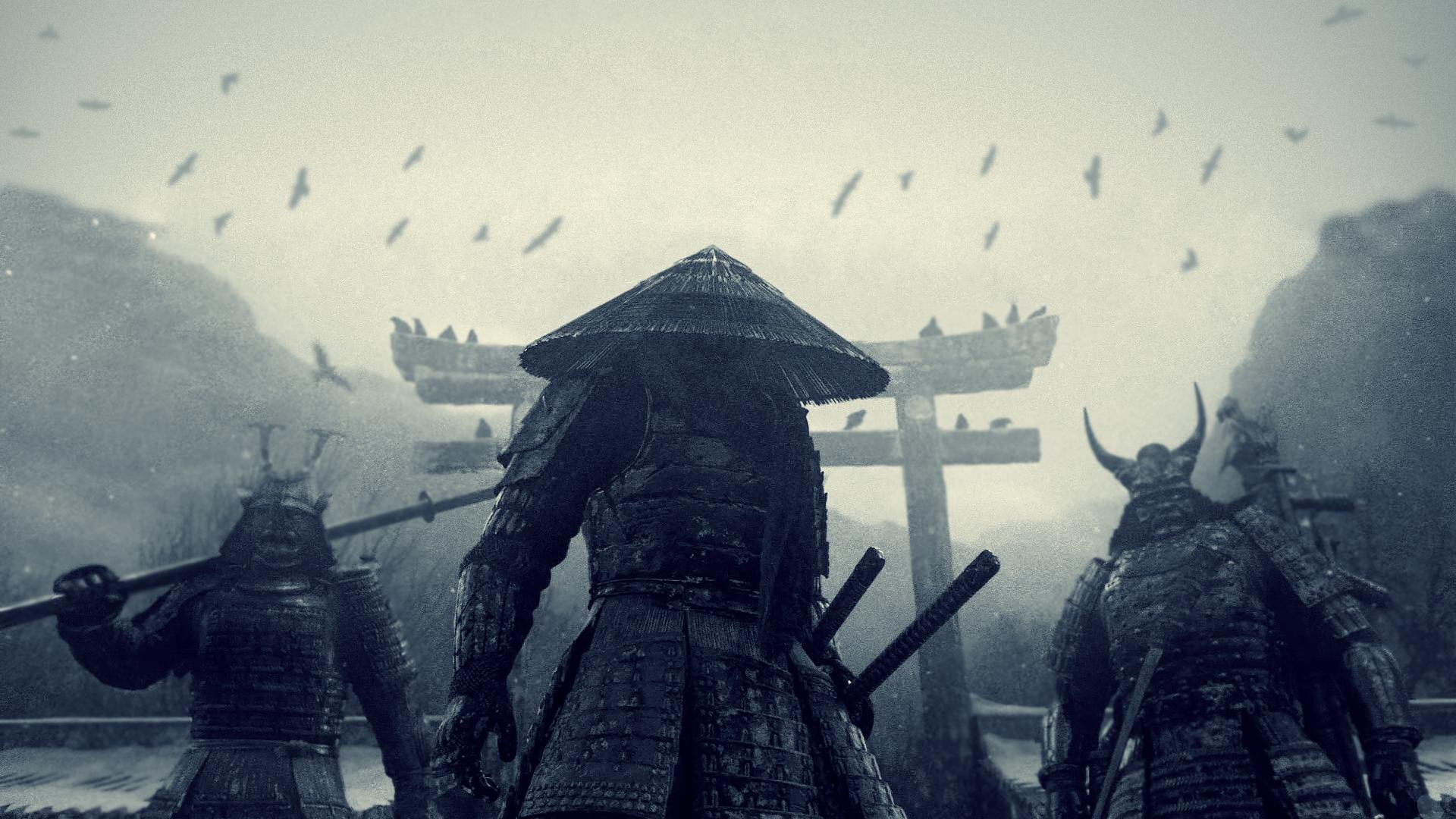 SAMURAI Samurai Samurai Tattoo and Samurai Armor 1920x1080