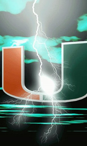 Miami Hurricanes LWP S App for Android 307x512