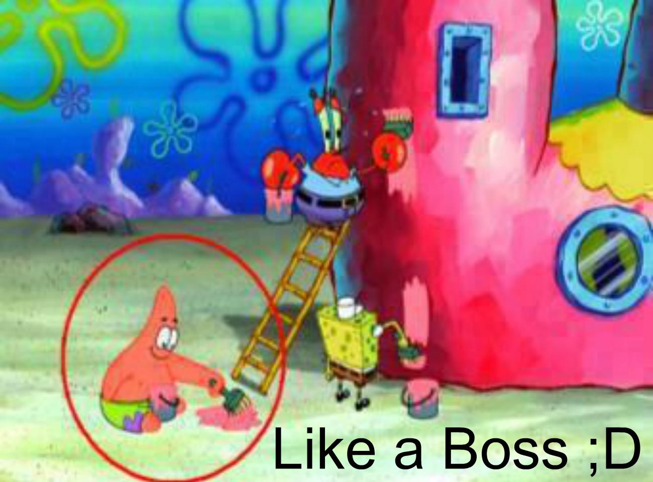 Funny Patrick Star Wallpaper on Spongebob Wallpaper