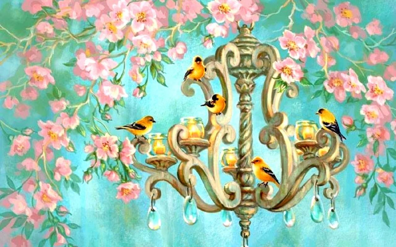 Chandelier Wallpaper 14   1280 X 800 stmednet 1280x800