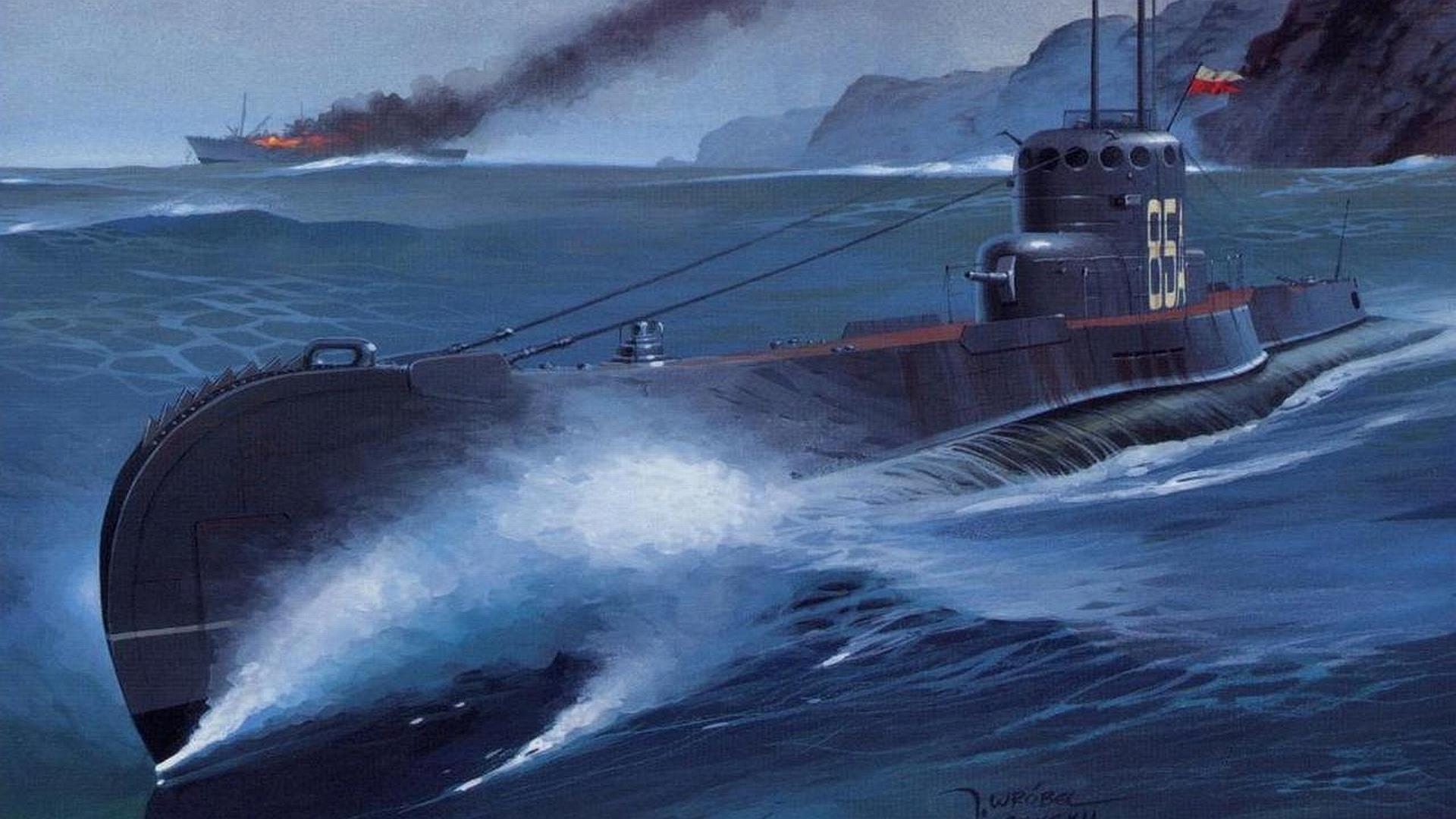 submarine Wallpaper Background 32097 1920x1080