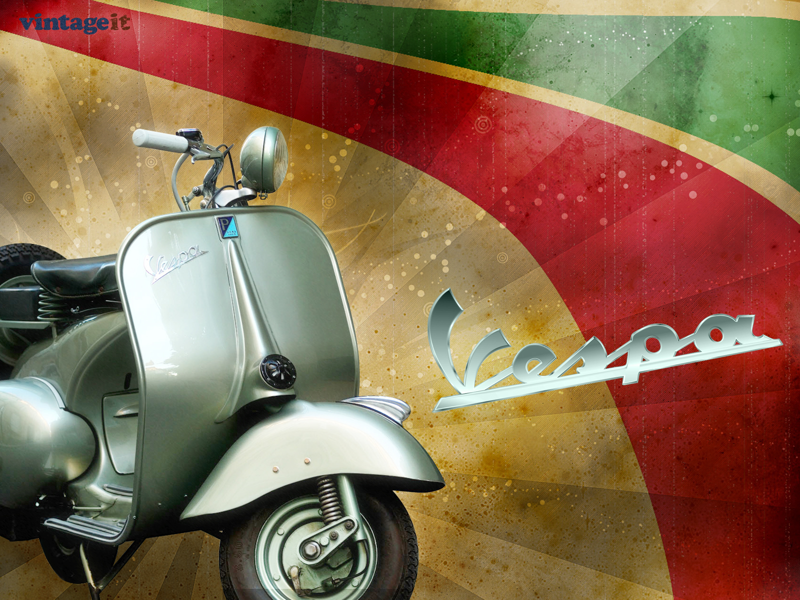 Vespa Vintage Wallpaper wallpapers and images   wallpapers pictures 1600x1200