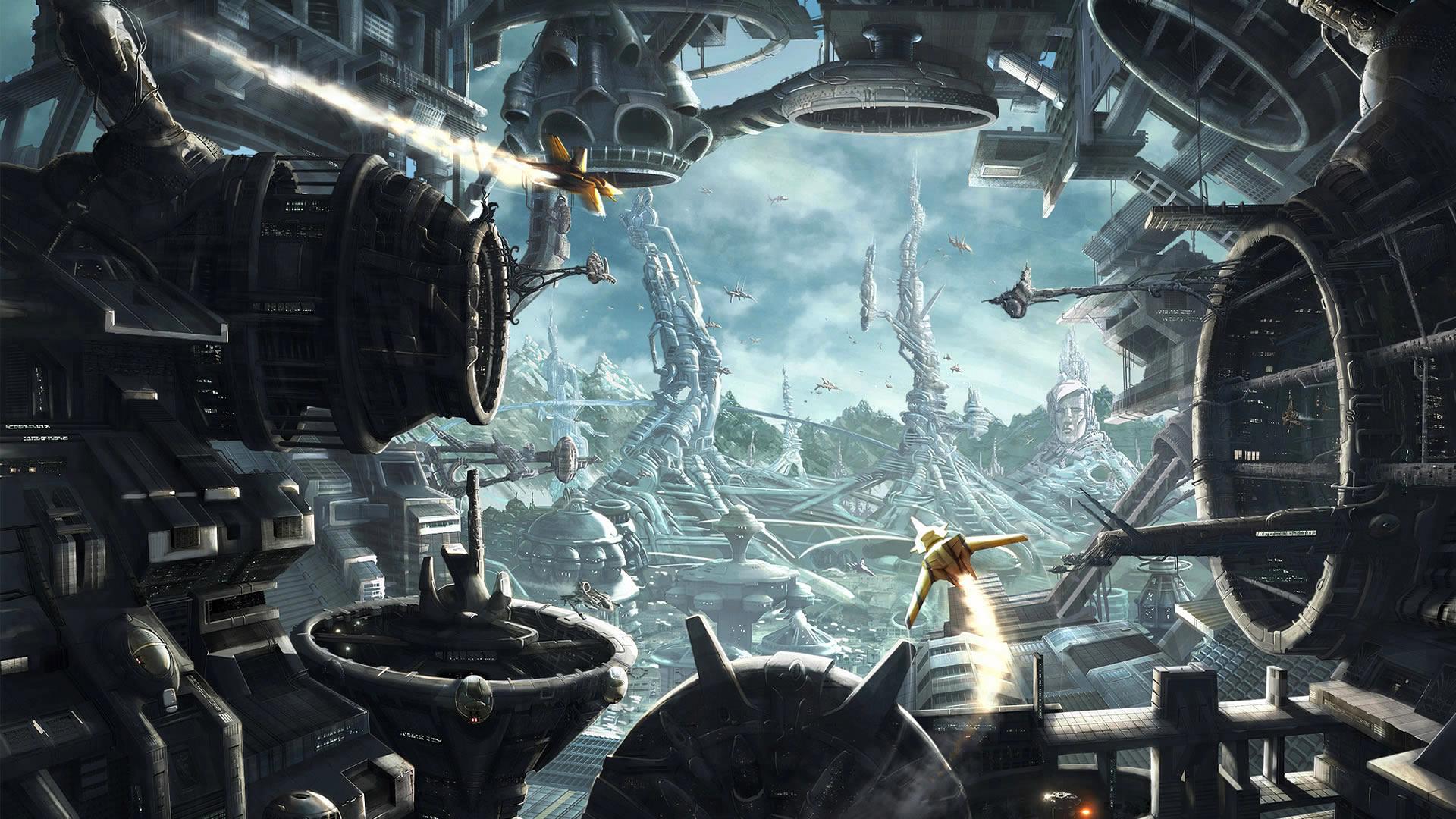 Sci Fi Spacecraft Art Sci fi wallpaper of the week 9 1920x1080