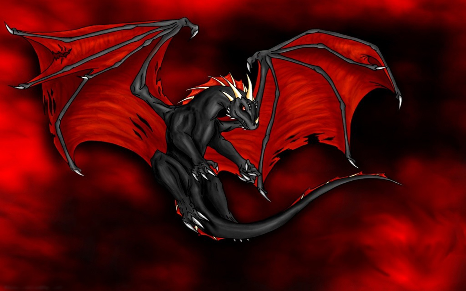 Red Dragons wallpapers Red Dragons background 1920x1200