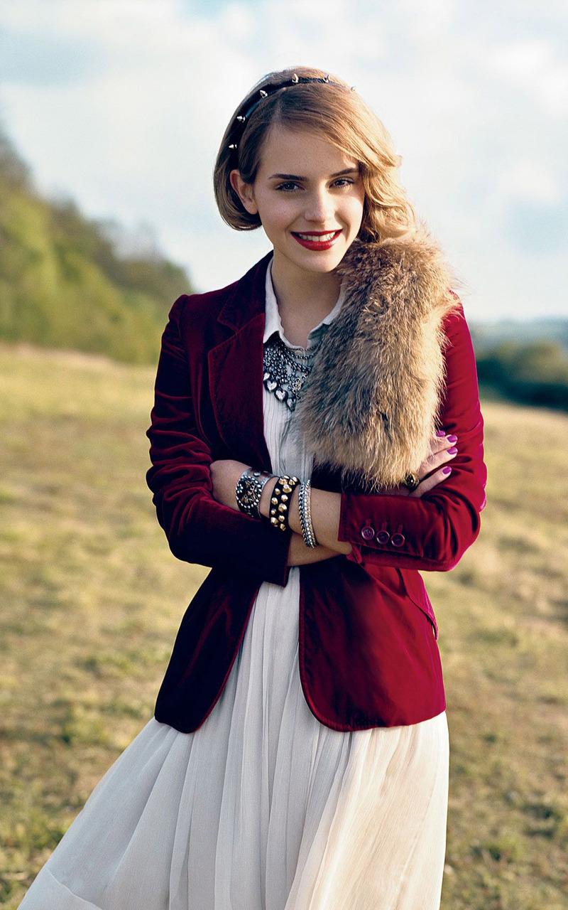 Emma Watson Mobile Wallpaper 9684 800x1280