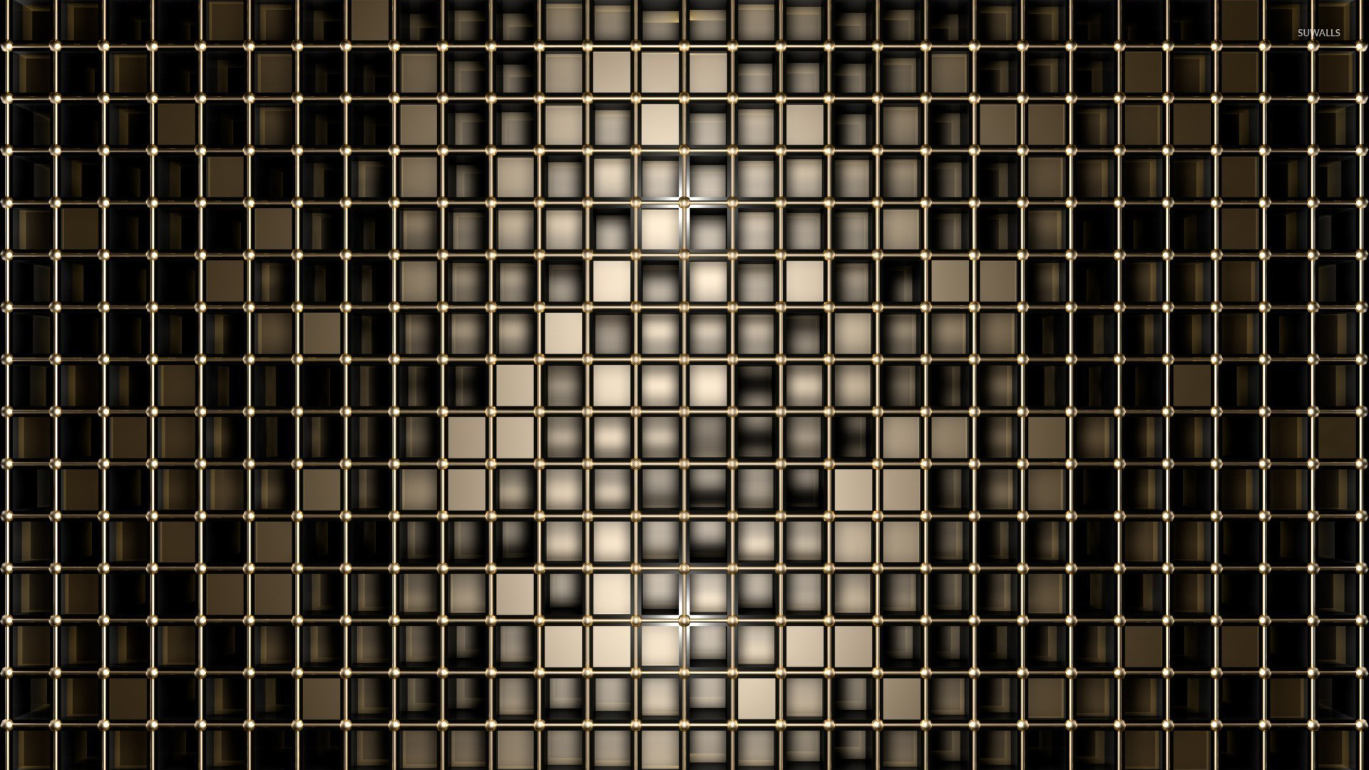 Bronze squares wallpaper   Abstract wallpapers   23248 1920x1080