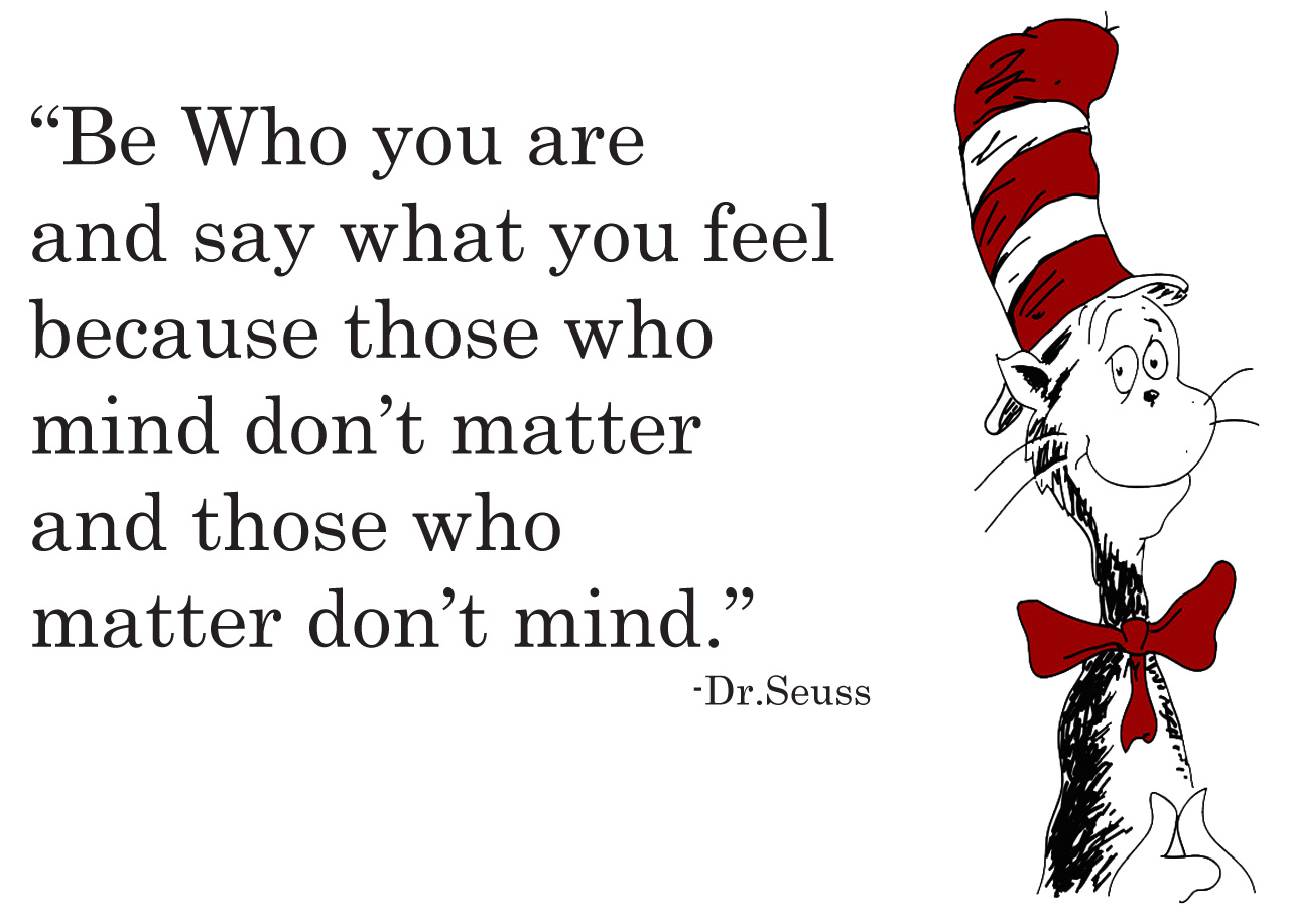 Dr Seuss Be Who You Are Quotes   Hot Girls Wallpaper 1280x917