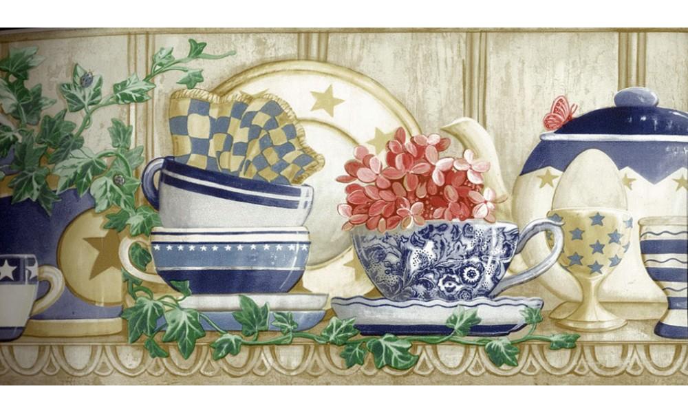 Home Kitchen Borders Kitchen Wallpaper Border CP033121 1000x600