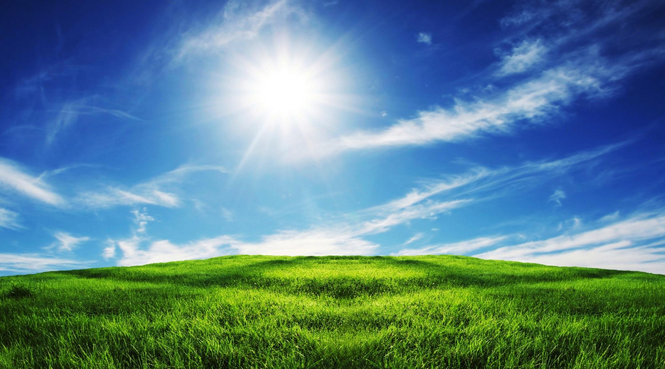 [64+] Sunny Day Wallpa...