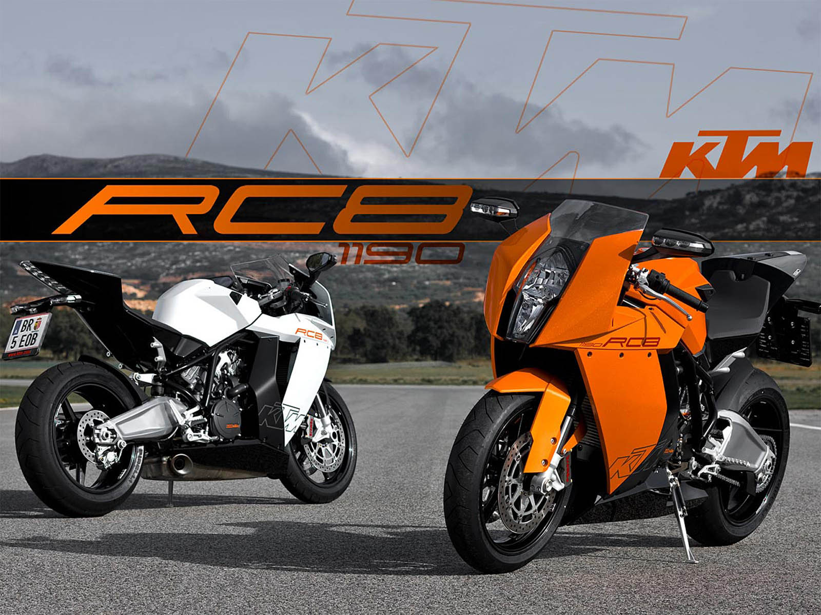 Wallpapers KTM RC8 1190 Bike Desktop Backgrounds KTM RC8 1190 Bike 1600x1200