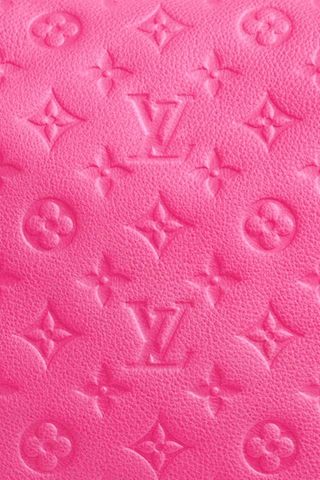 Pink Louis Vuitton Wallpaper