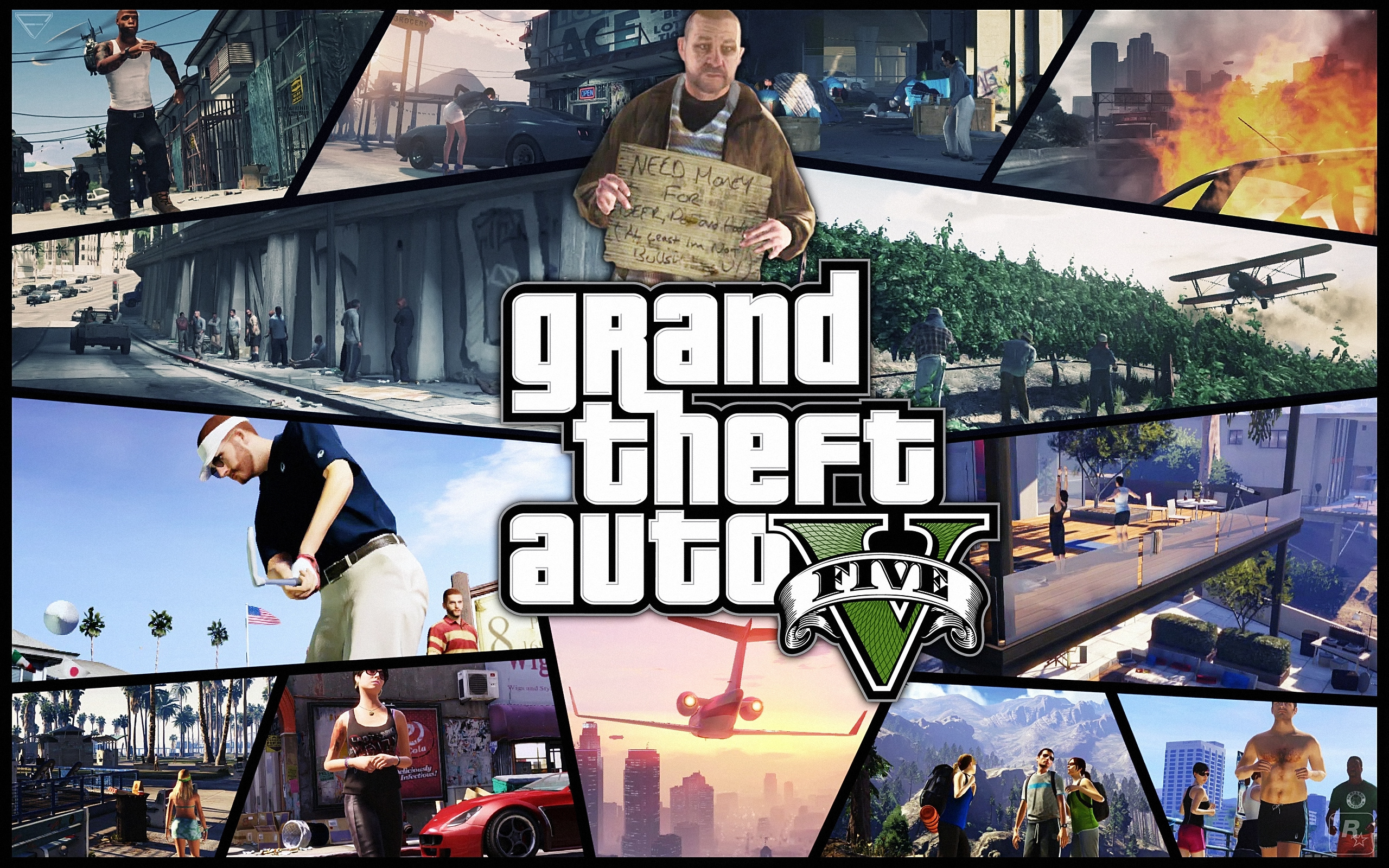 Grand Theft Auto 5 Wallpapers HD Wallpapers 2560x1600