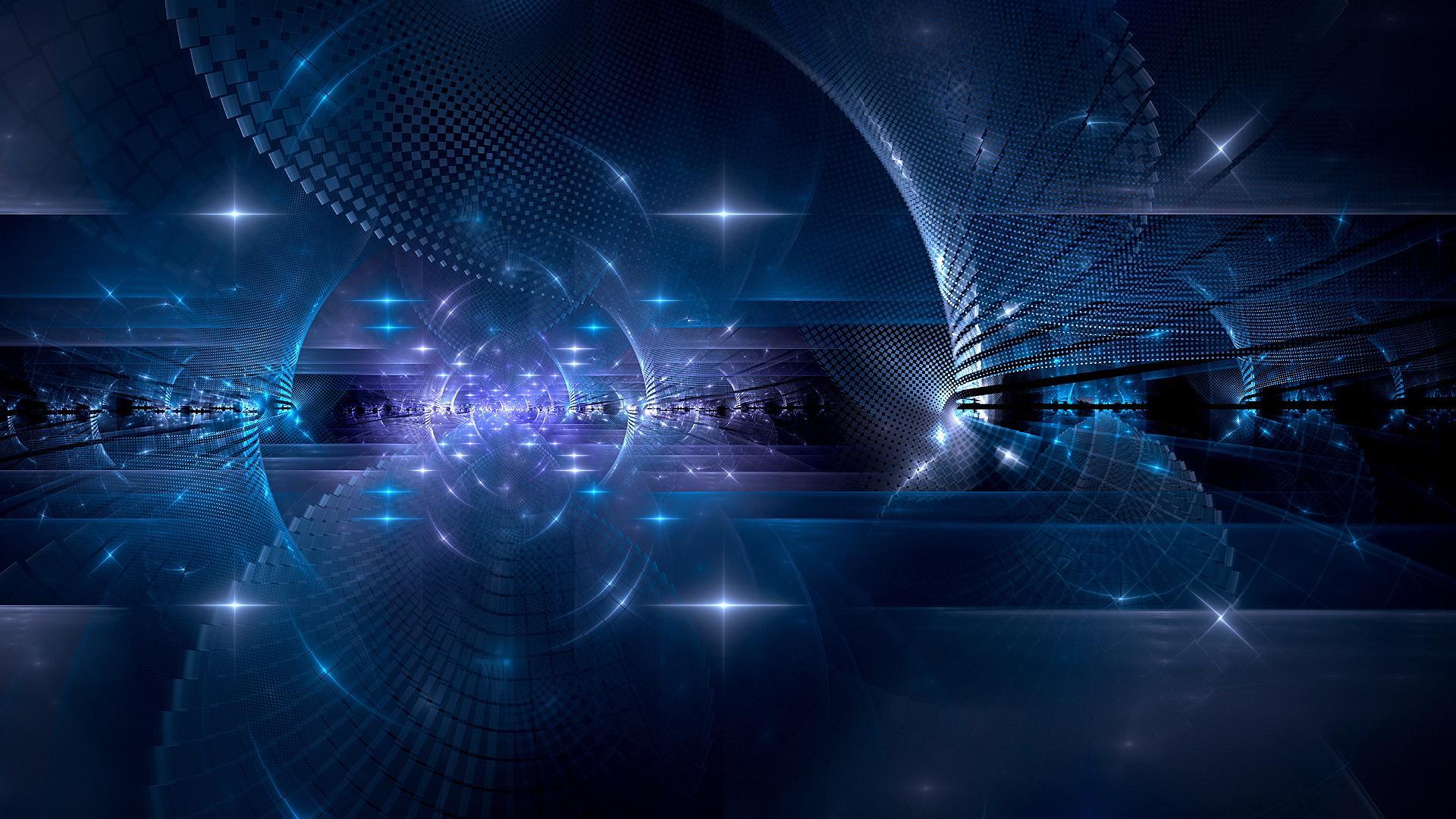 Hd Blue 3d Design Desktop Backgrounds Widescreen and HD background 1920x1080
