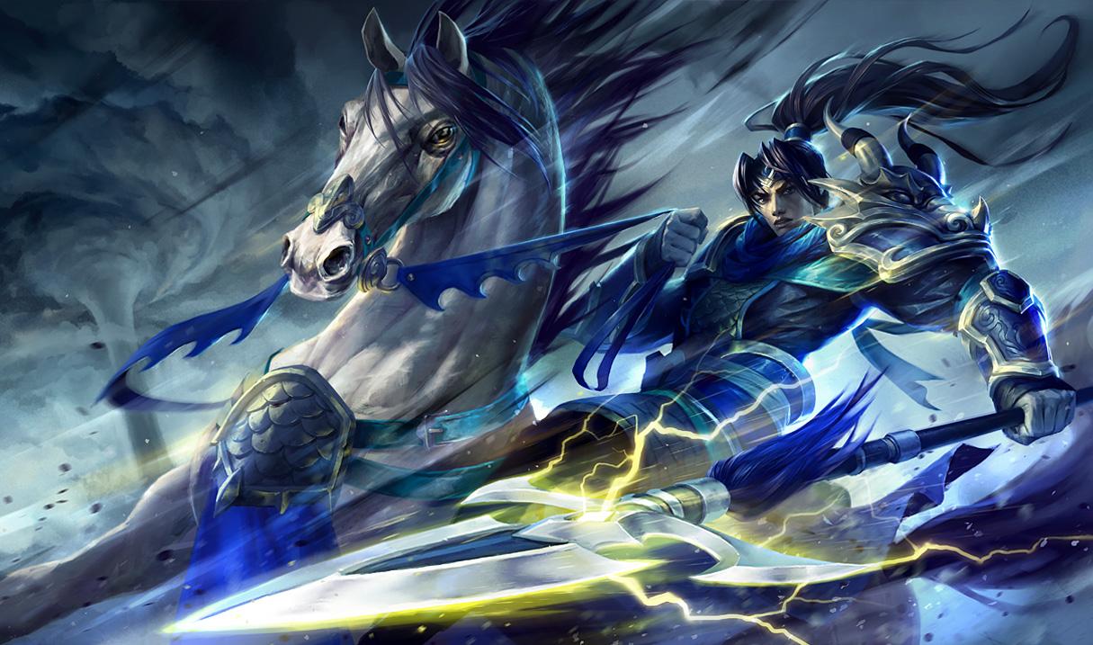 Warring Kingdoms Xin Zhao Skin 1215x717
