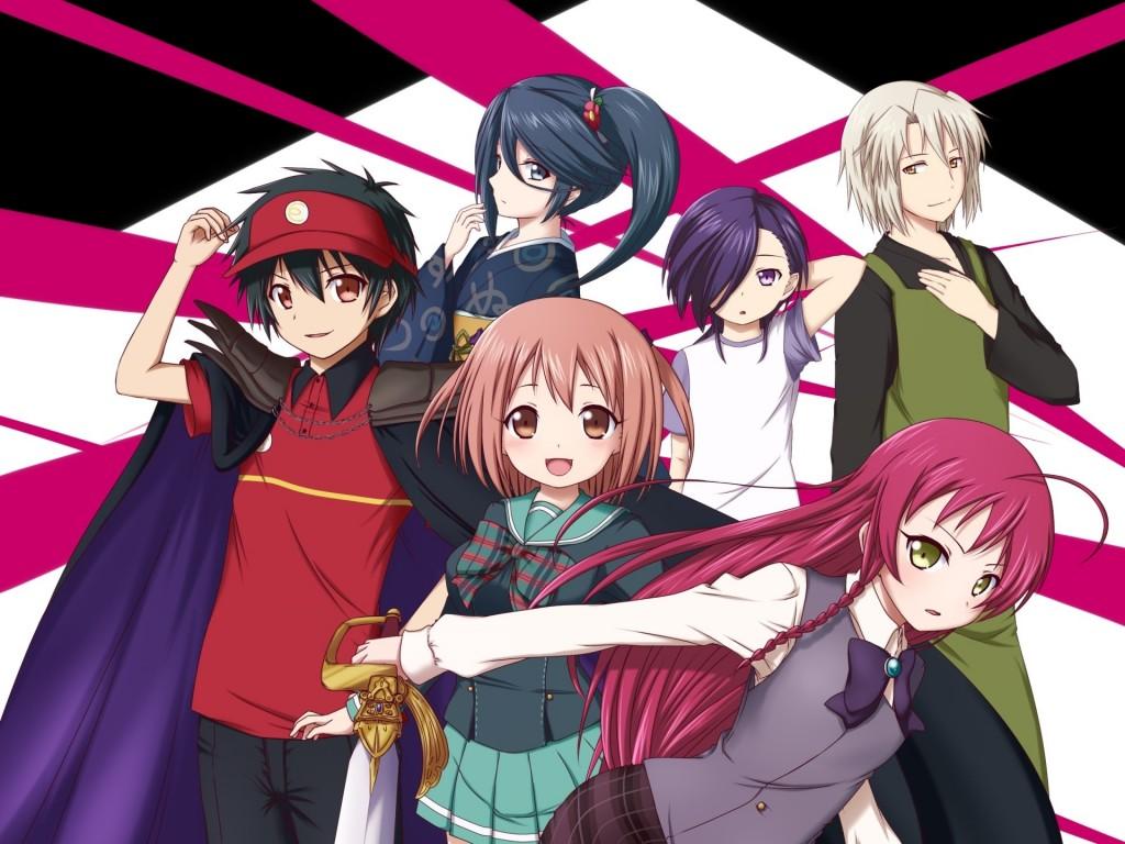 Hataraku Maou sama Wallpapers High Quality Download 1024x768