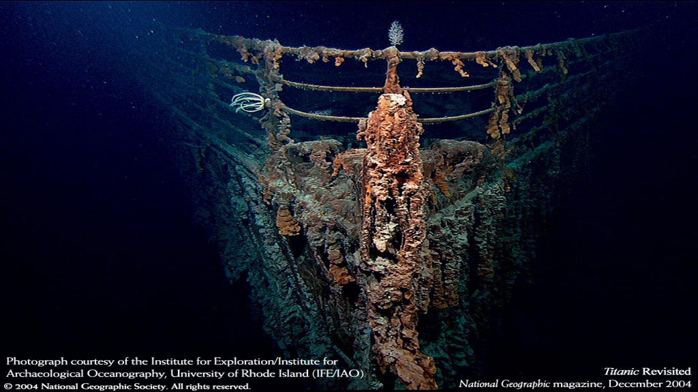 1366x768px Titanic Sinking Wallpaper Wallpapersafari