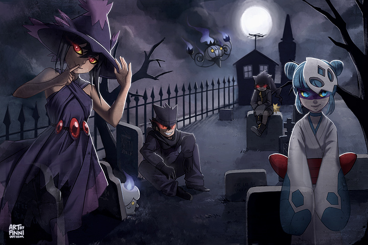 Ghost Pokemon Wallpaper Tumblr Pkmn ghost party by finni 720x480