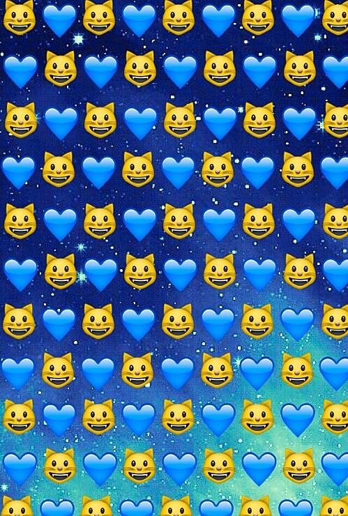 cats emoji galaxy hearts space stars