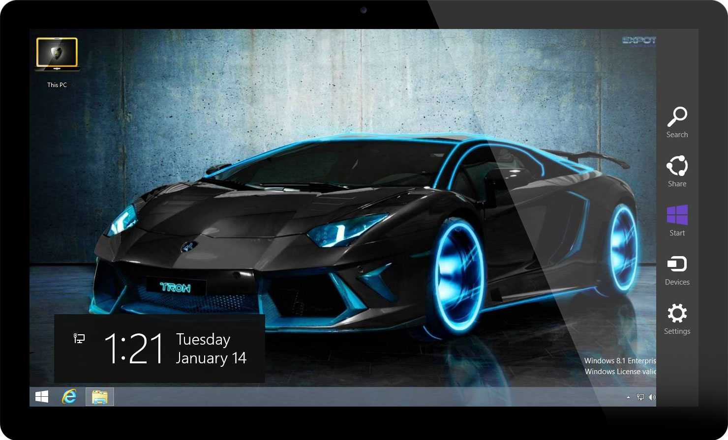 ... windows 7 and windows 8 and has 35 hd car wallpapers and logon screens