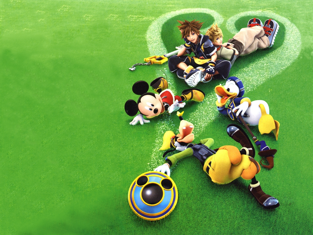 wallpaper Kingdom Hearts Wallpaper For Ipod 1024x768