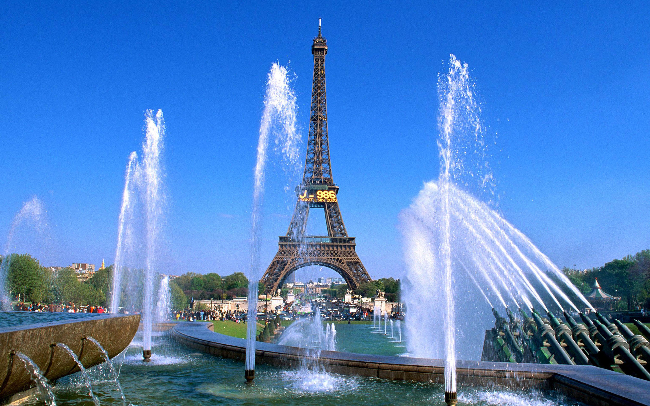 Tour Eiffel de Paris Wallpapers fond dcran photos en HD 2560x1600