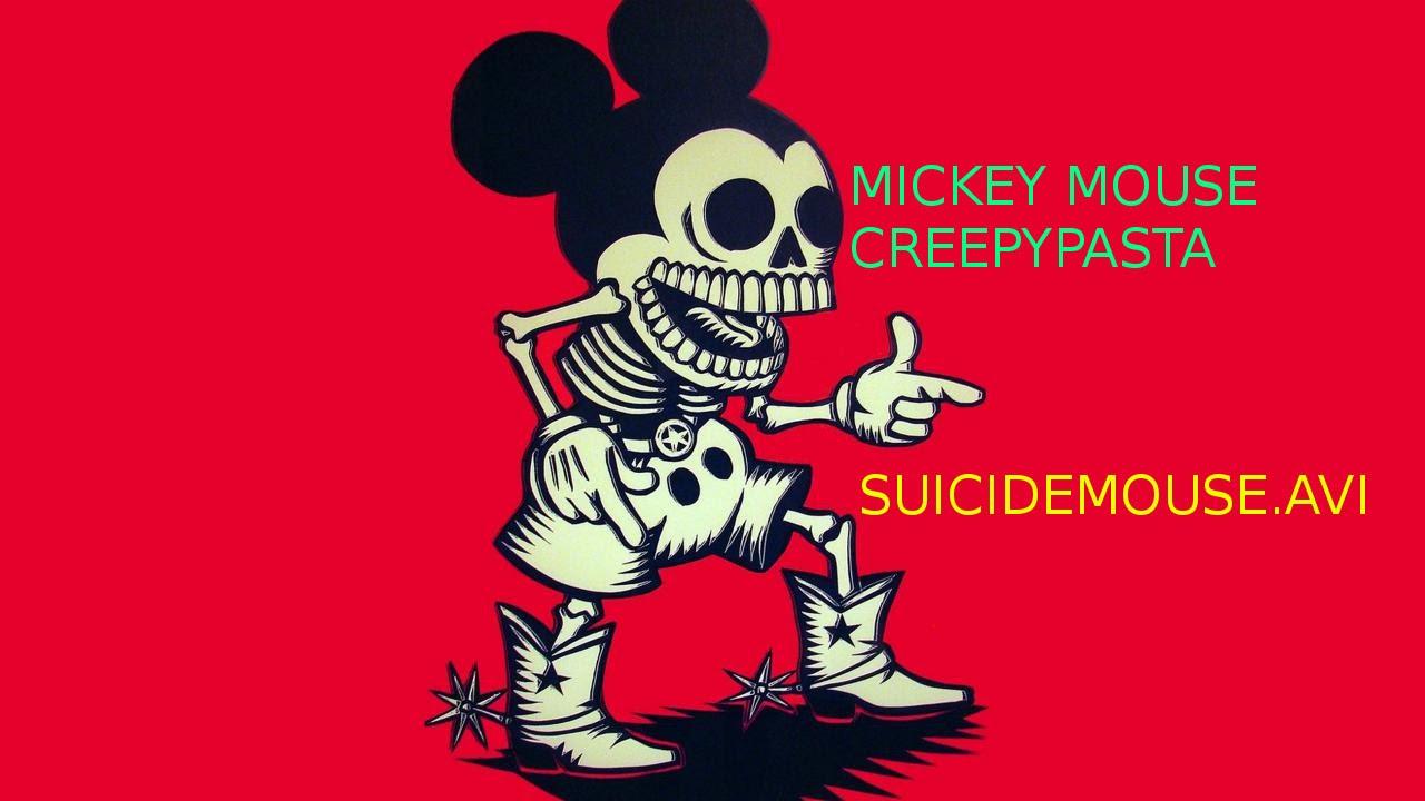 Cartoon Creepypasta   Mickey Mouse   Suicidemouseavi 1280x720