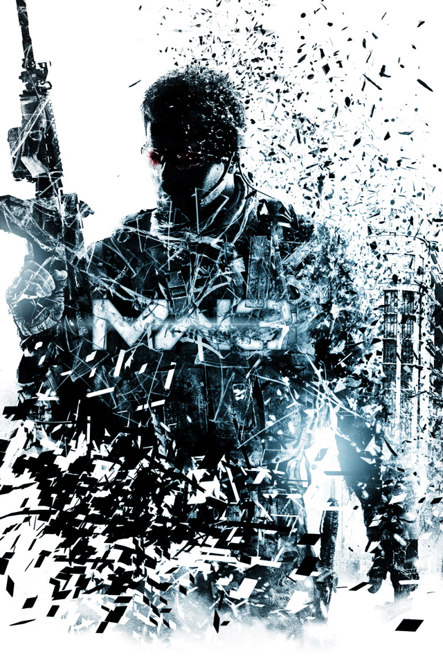Download Games Wallpaper Mw3 Shaderd With Size 640x960 Pixels For