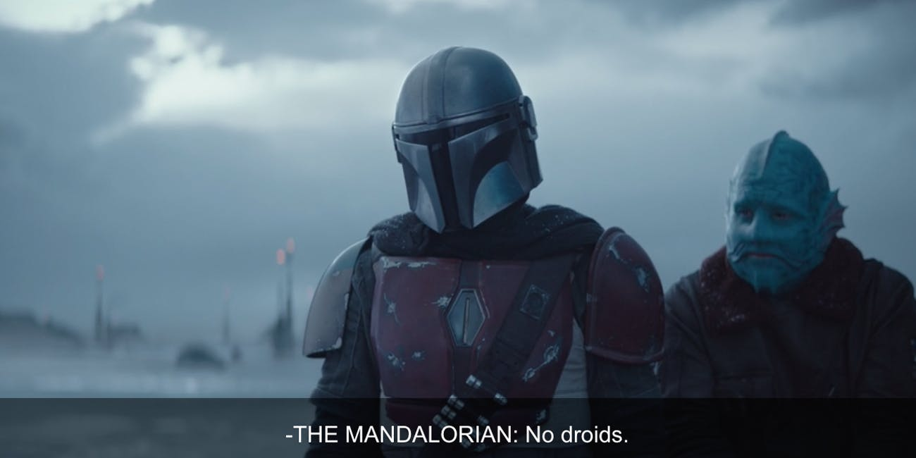 The Mandalorian reinvents Star Wars long history of droid racism 1300x650