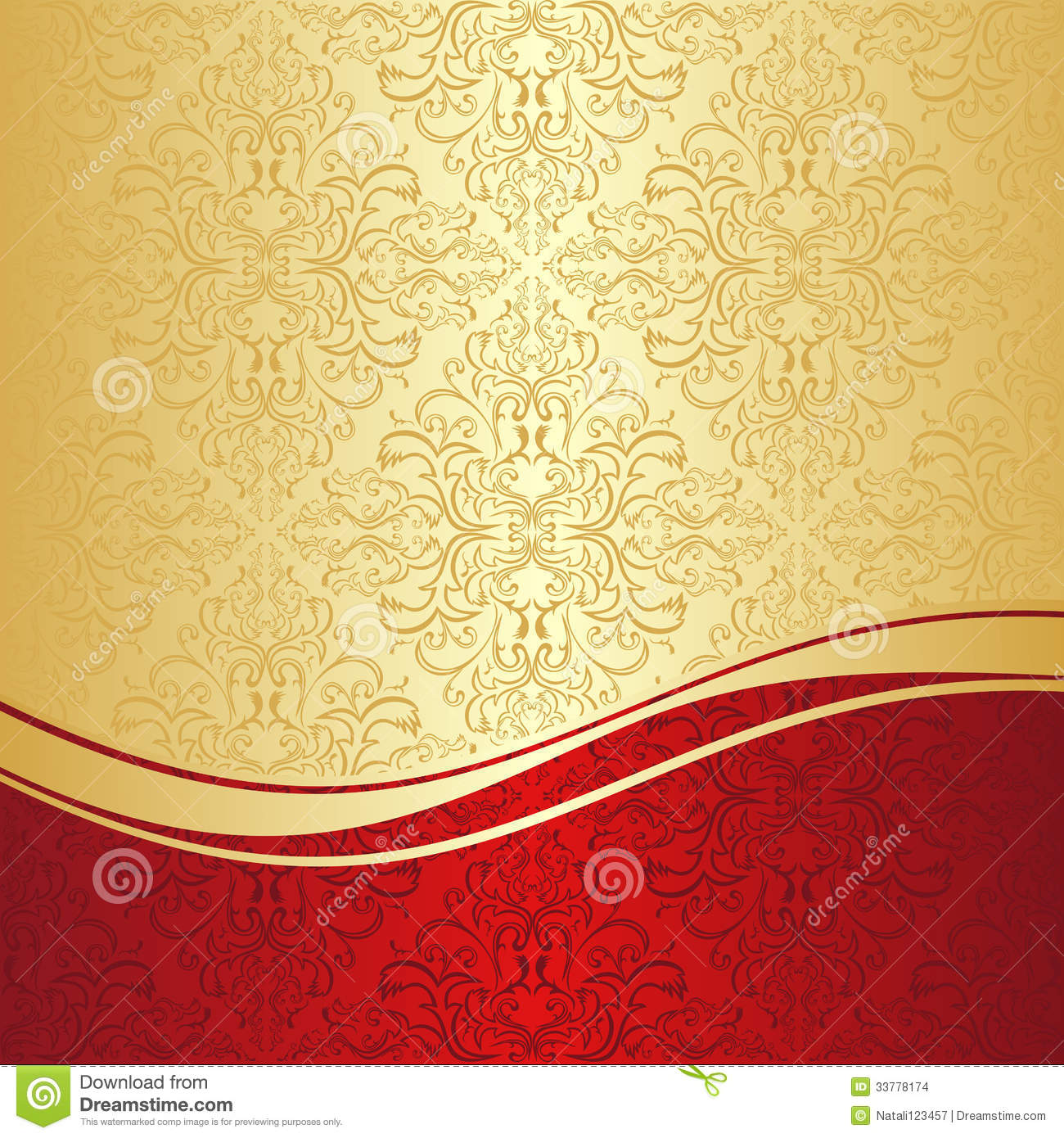 Red And Gold Backgrounds Background gold and red 1300x1390