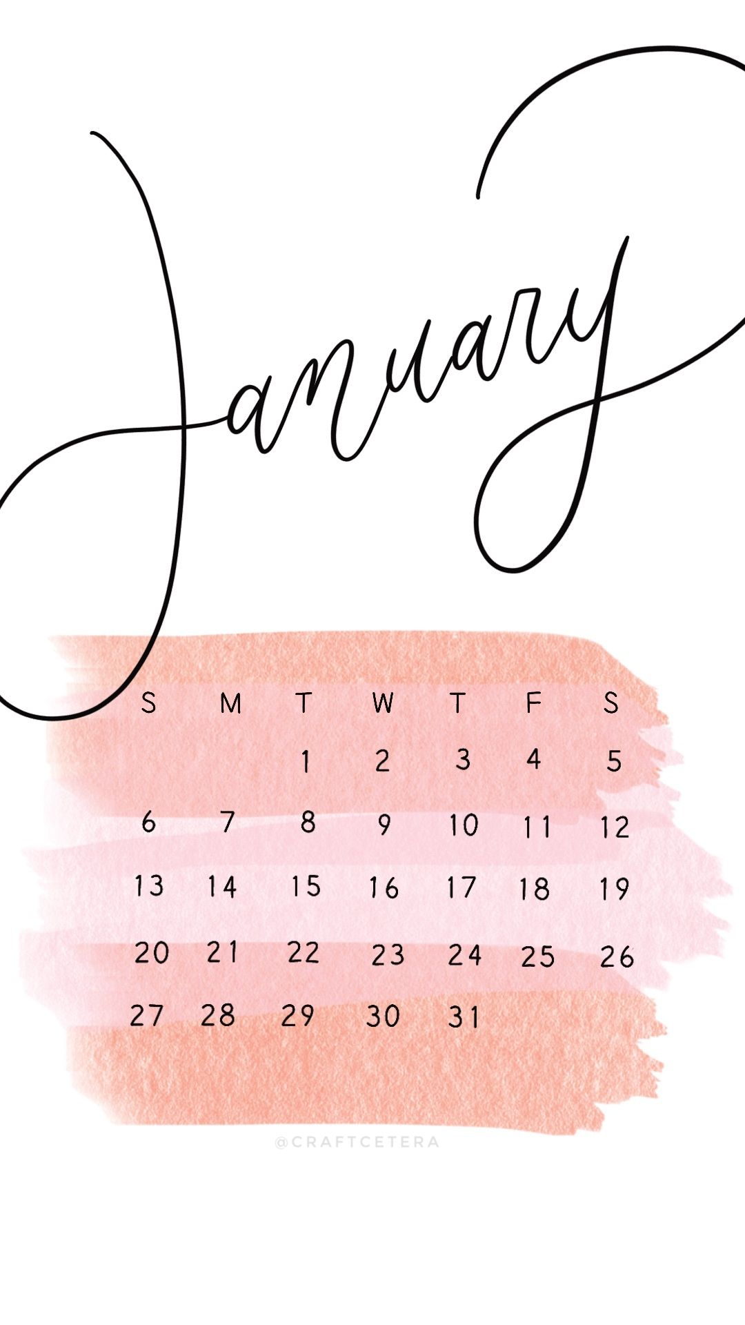 January 2019 Wallpaper January calendar January wallpaper 1080x1920