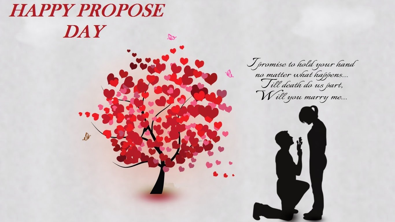 Top 20 Propose Day Images for Whatsapp 1366x768