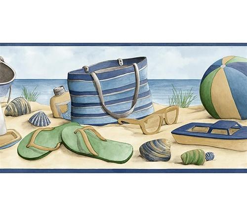 images beach themed wallpaper borders beach themed wallpaper borders 500x437