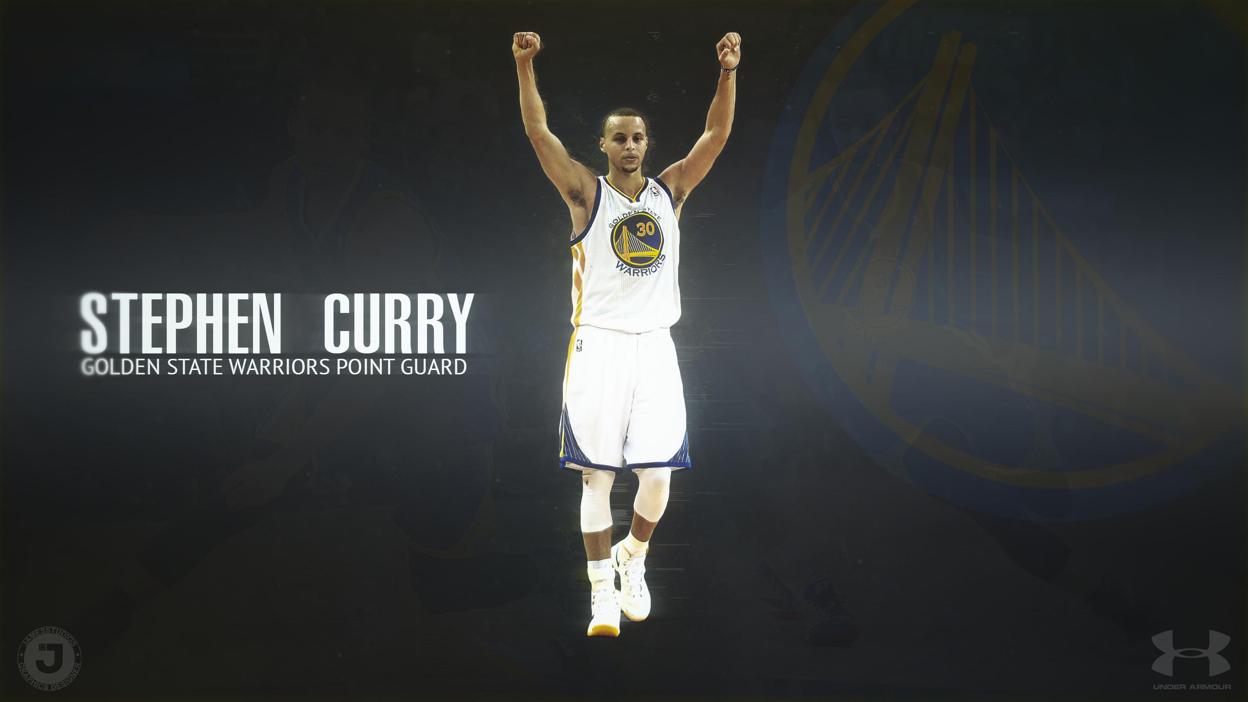 Stephen Curry Desktop Wallpaper by JamesSStudios Stephen Curry Desktop 2560x1440