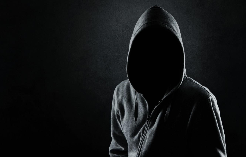 Wallpaper dark black shadows mysterious hooded faceless 1332x850