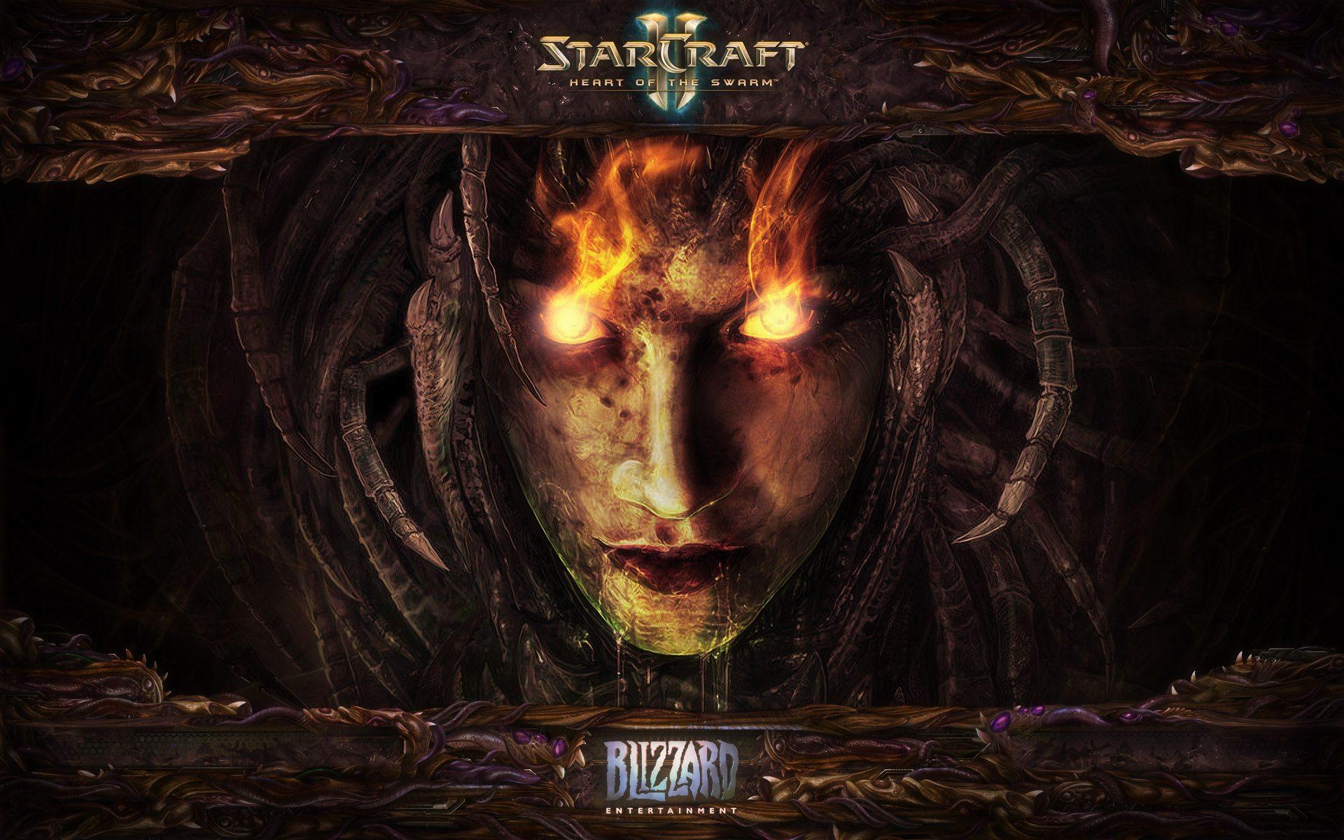 Free Download Sarah Kerrigan Starcraft 2 Heart Of The Swarm