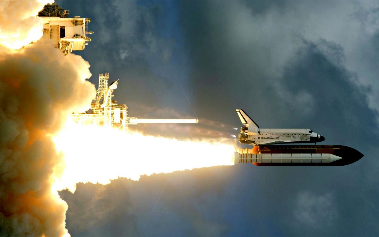 freedom space shuttle - HD 1440×900