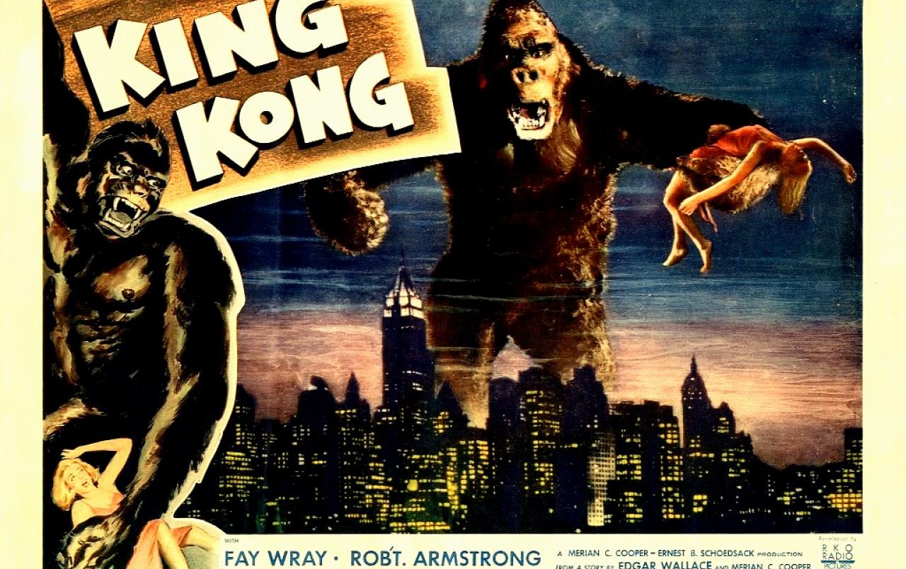 Vintage Cinema King Kong wallpapers Vintage Cinema King Kong 1280x804