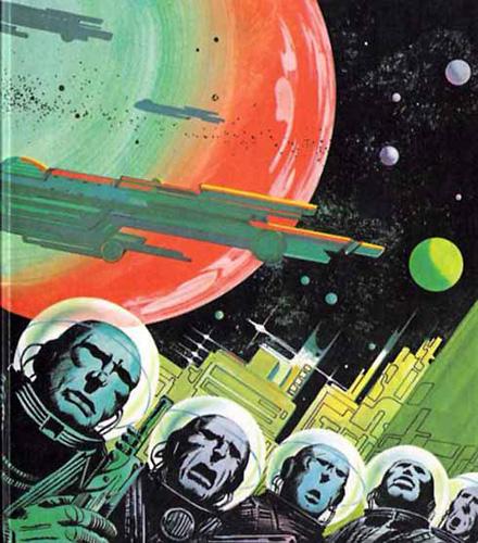 Vintage Science Fiction Wallpaper Google Search: Retro Space Art Wallpaper