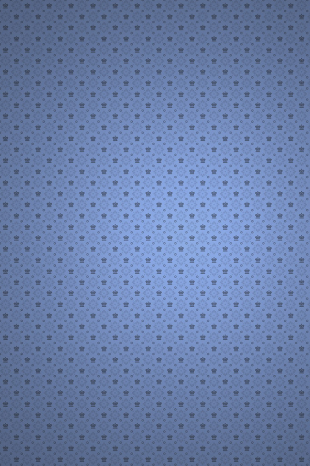 download Plain Perforated Blue iPhone 4s Wallpaper Download 640x960
