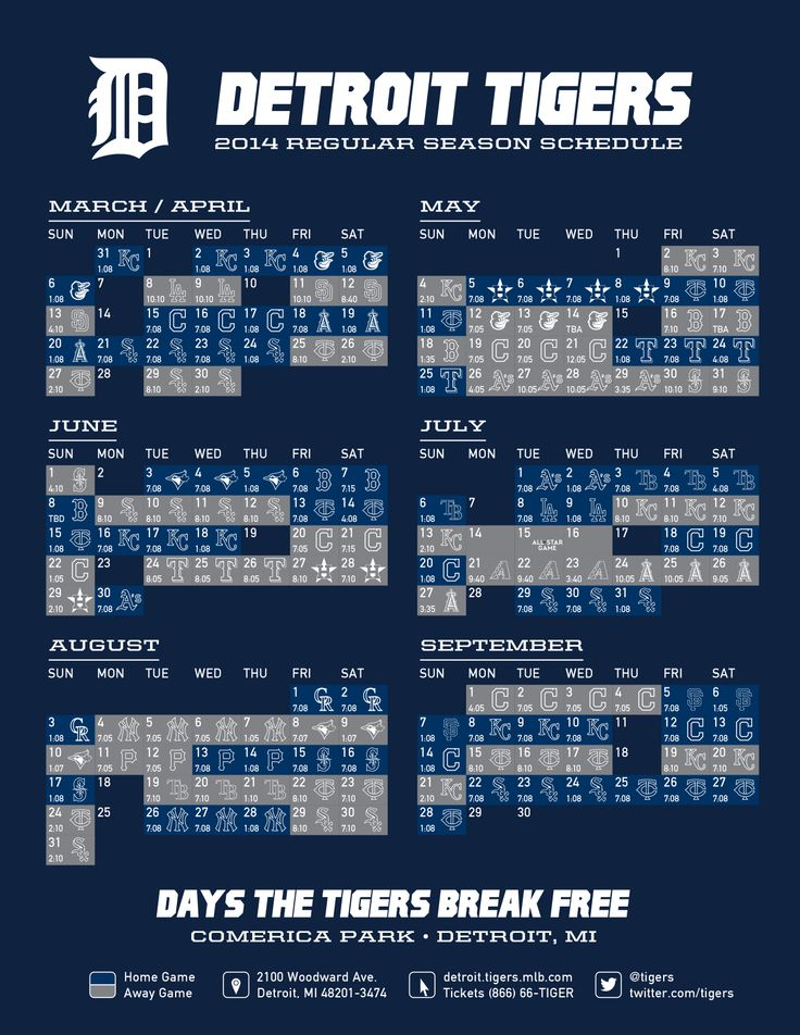 picture about Tigers Printable Schedule named 49+] 2015 Detroit Tigers Timetable Wallpaper upon WallpaperSafari