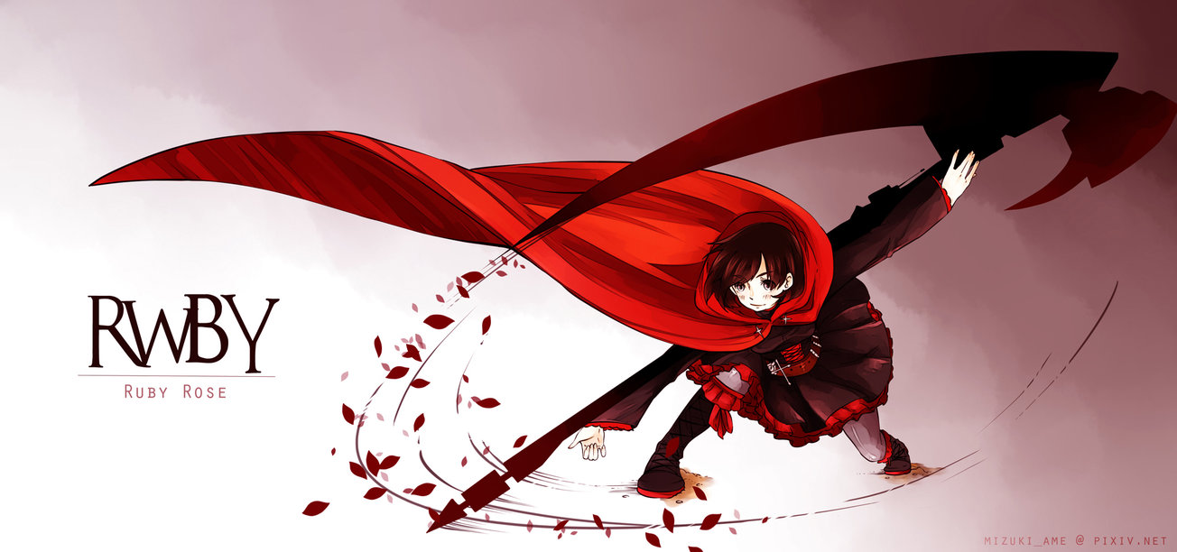 RWBY   Ruby by LittleKotone 1304x612