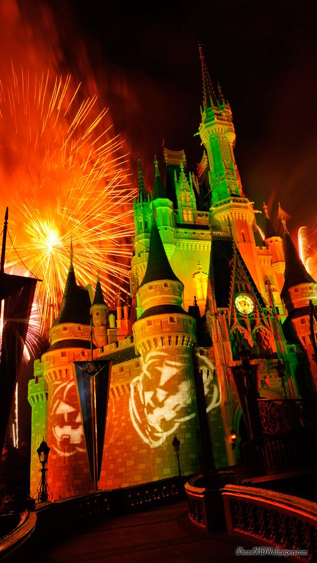 iPhone 5 640X1136 Halloween at Disneyland iPhone 5 HD Wallpapers 640x1136