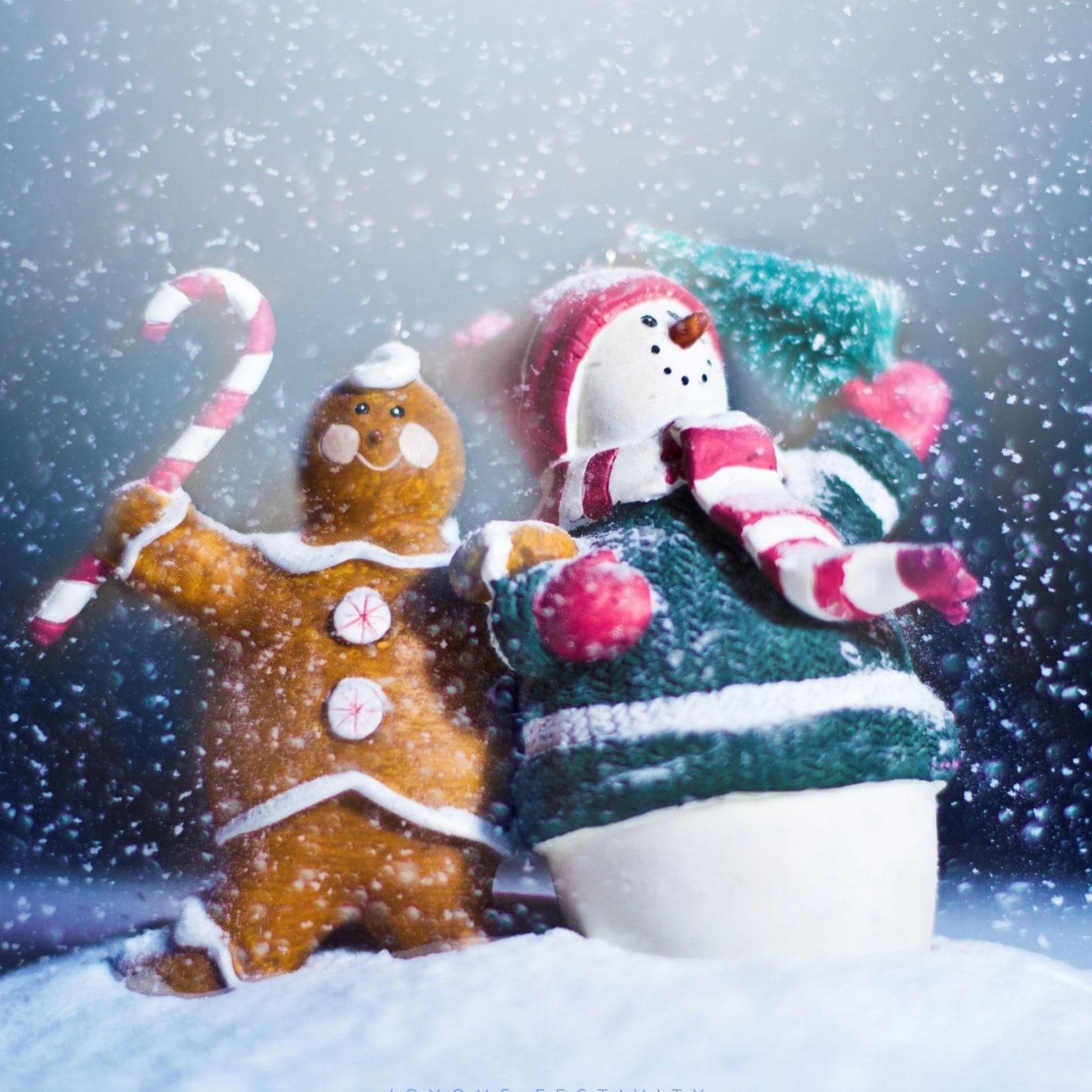 25 Christmas iPad Wallpapers 2048x2048