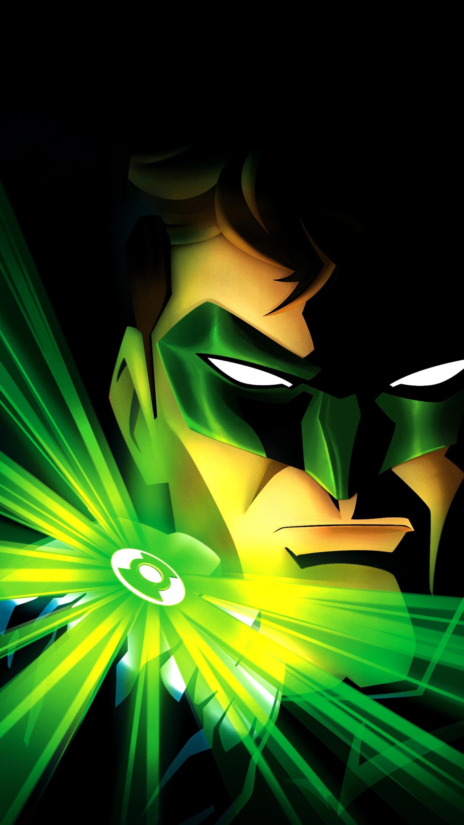 Green Lantern First Flight 2009 Phone Wallpaper Moviemania 1536x2732