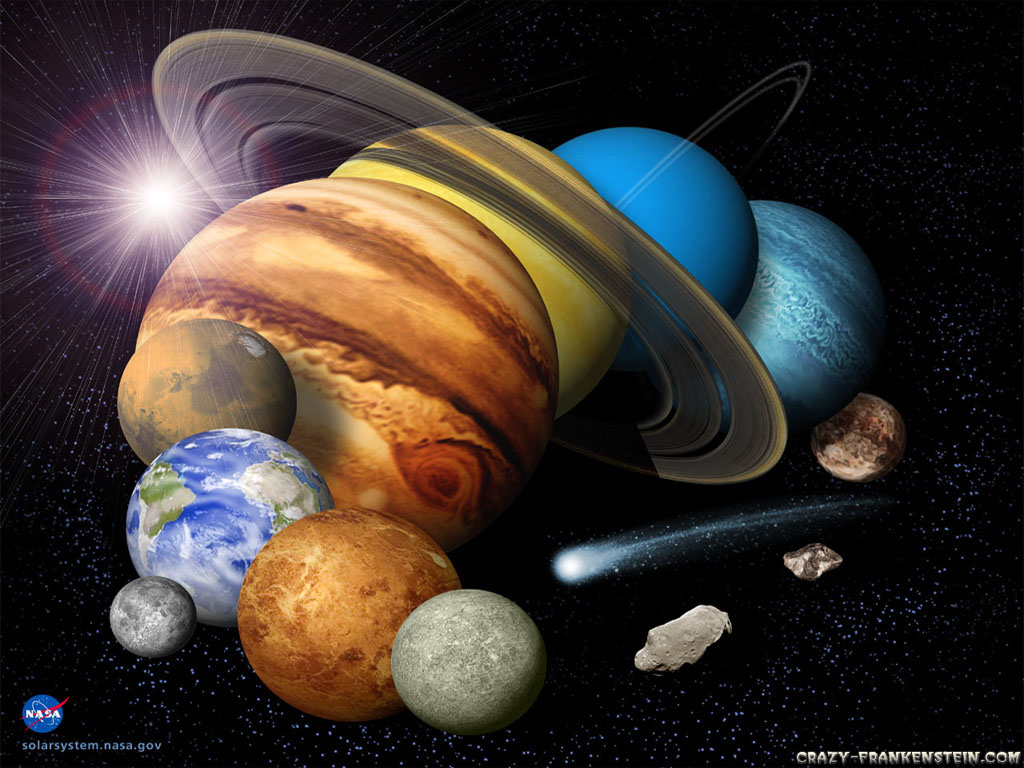 Wallpaper Solar system   Planet wallpapers 2 1024x768