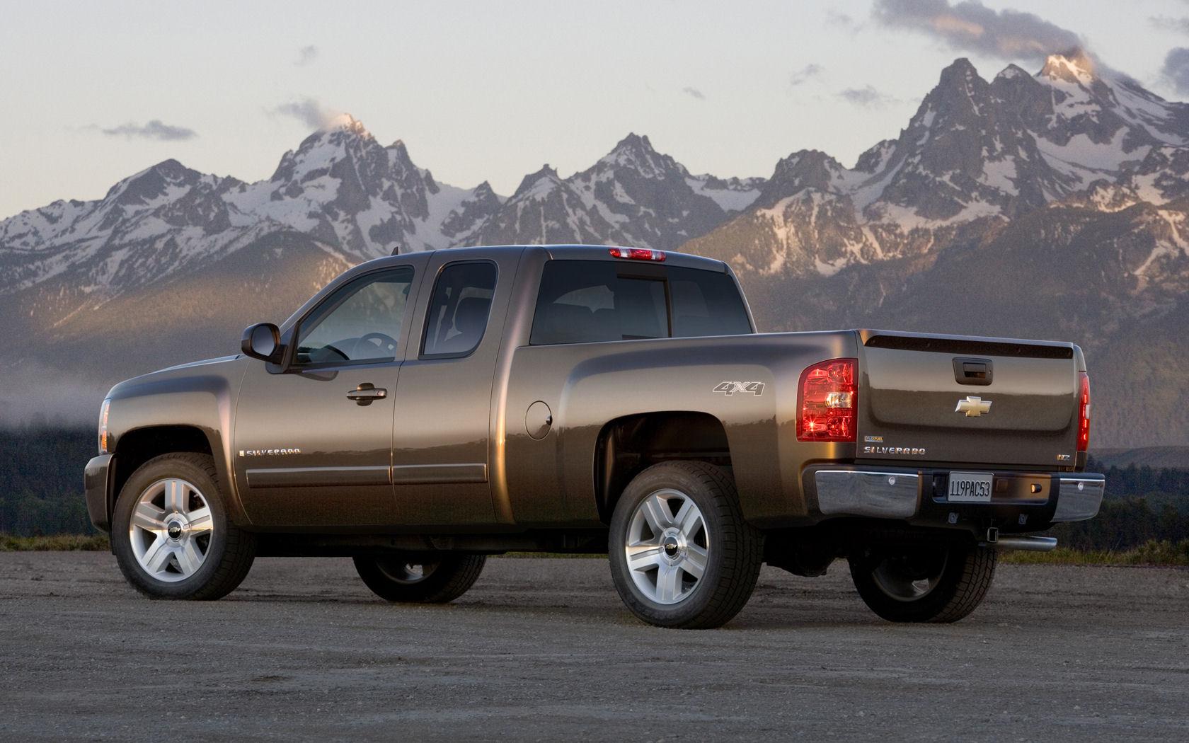 Chevrolet Silverado 1500 Chevrolet Silverado 1500 Desktop Wallpapers 1680x1050