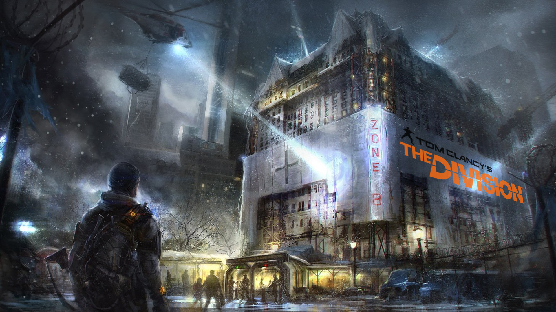 Hd wallpaper zone - The Division Iphone Wallpaper The Division Wallpaper Zone B