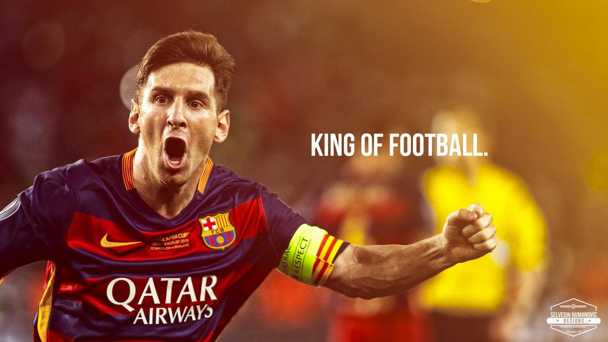 Lionel Messi WALLPAPER 2015 by SelvedinFCB 1191x670