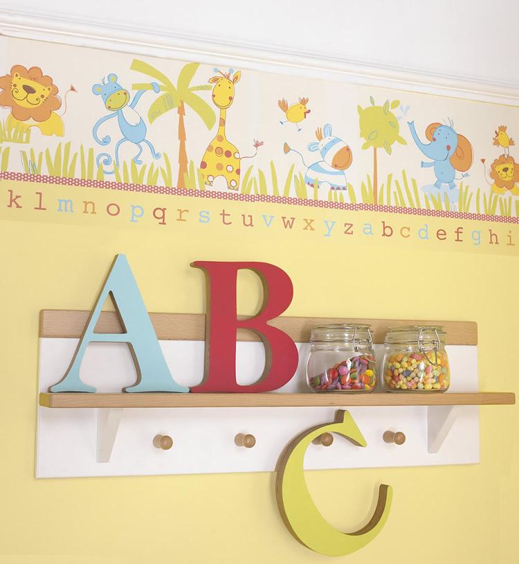 Abc Safari Bedding From My Mini Monsters Izziwotnot Nursery 750x814
