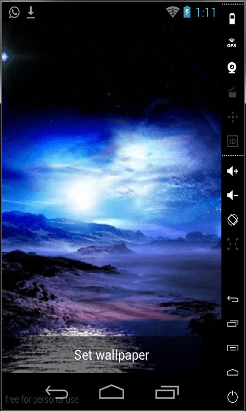 Download Northern Lights Live Wallpaper free for your Android phone